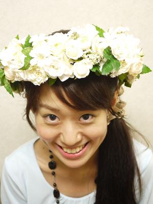 手作り花冠